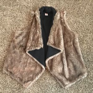 Mossimo Supply Co. Reversible Faux Fur Vest
